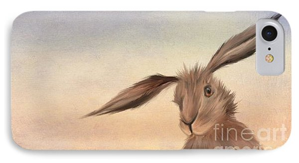 March Hare IPhone 7 Case by John Edwards