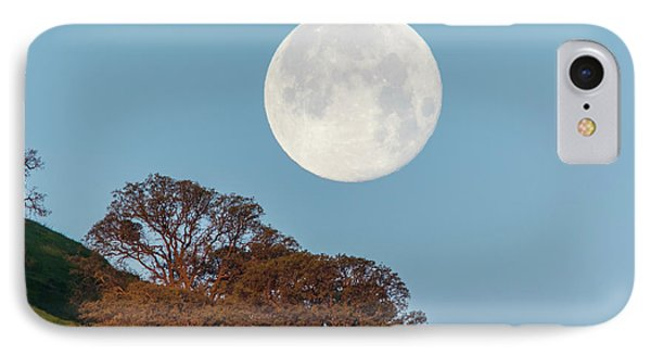 IPhone Case featuring the photograph March Moonset by Marc Crumpler
