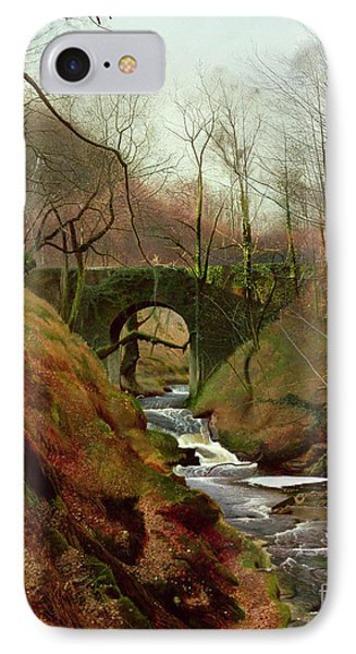 March Morning Phone Case by John Atkinson Grimshaw