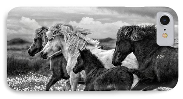 March Of The Mares IPhone Case