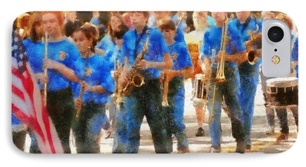 Marching Band - Junior Marching Band  Phone Case by Mike Savad