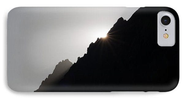 Mountain Sunset IPhone Case by Marco Missiaja