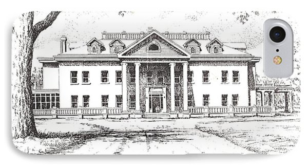 Marcus Daly Mansion Hamilton Montana Phone Case by Kevin Heaney