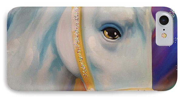 Mardi Gras Horse IPhone Case by Julianne Ososke