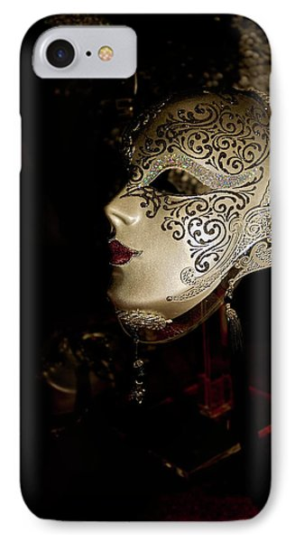 Mardi Gras Mask Phone Case by Christopher Holmes