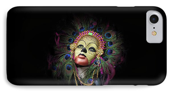 Mardi Gras Mask In New Orleans, Louisiana IPhone Case