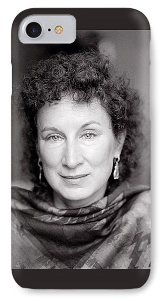 Margaret Atwood IPhone Case by Shaun Higson