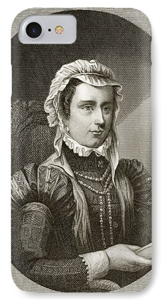Margaret, Duchess Of Parma, 1522 To IPhone Case by Vintage Design Pics