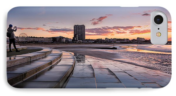 Margate Kings Steps IPhone Case by Ian Hufton