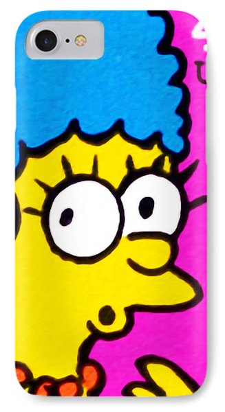 Marge Simpson IPhone Case