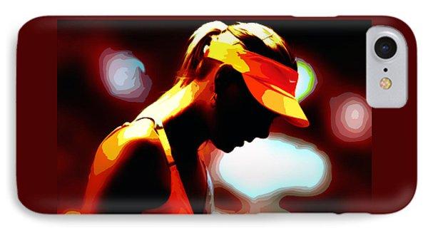Maria Sharapova 5b IPhone Case by Brian Reaves
