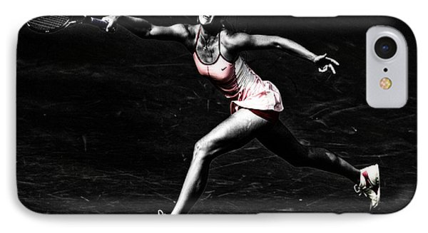 Maria Sharapova Extended IPhone Case by Brian Reaves