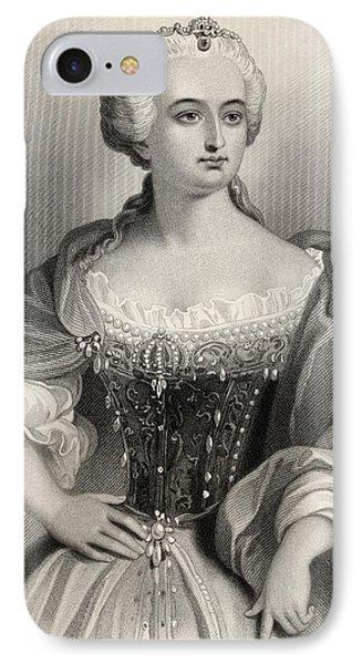 Maria Theresa, Archduchess Of Austria IPhone Case