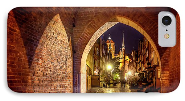 IPhone Case featuring the photograph Mariacka By Night  by Carol Japp