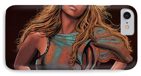 Mariah Carey Painting IPhone Case by Paul Meijering