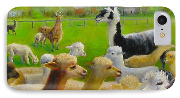 Mariah Guards The Herd IPhone Case by Oz Freedgood