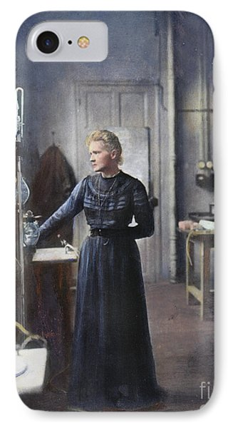 Marie Curie (1867-1934) Phone Case by Granger