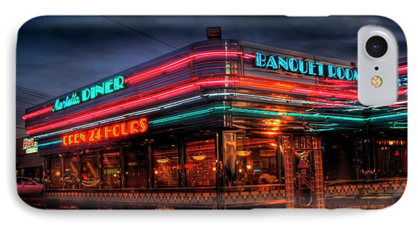 Marietta Diner Phone Case by Corky Willis Atlanta Photography