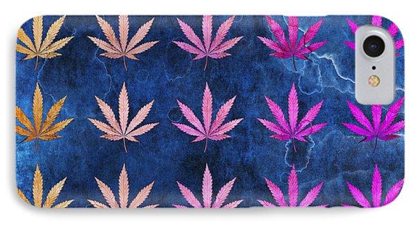 Marijuana Leaf IPhone Case by Sumit Mehndiratta