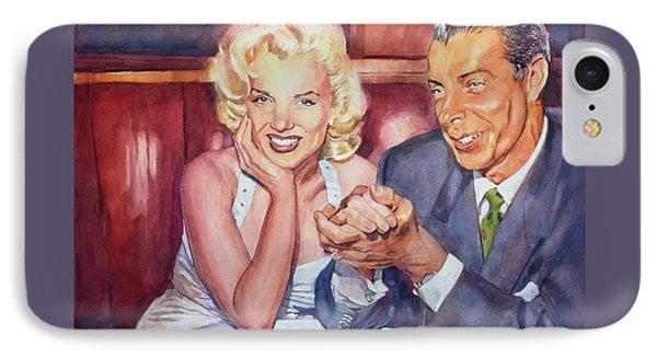 Marilyn And Joe 1952  IPhone Case