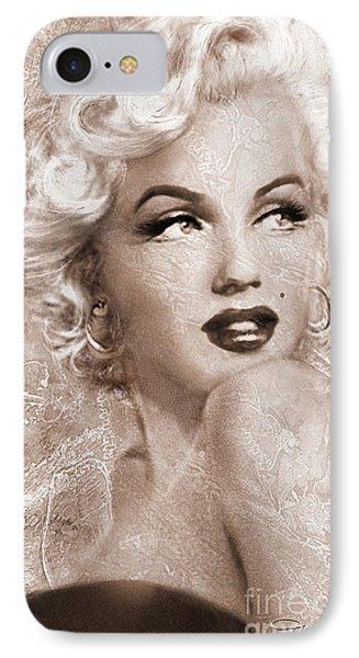 Marilyn Danella Ice Sepia IPhone Case