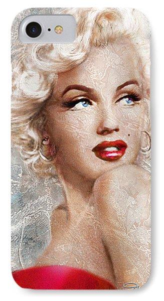Marilyn Danella Ice IPhone Case