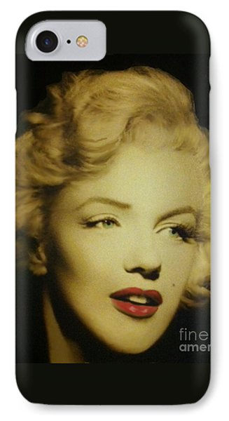 Marilyn IPhone Case by Elizabeth Coats