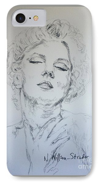 Marilyn, Feelings IPhone Case