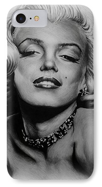 Marilyn Frosted Edit IPhone Case by Andrew Read