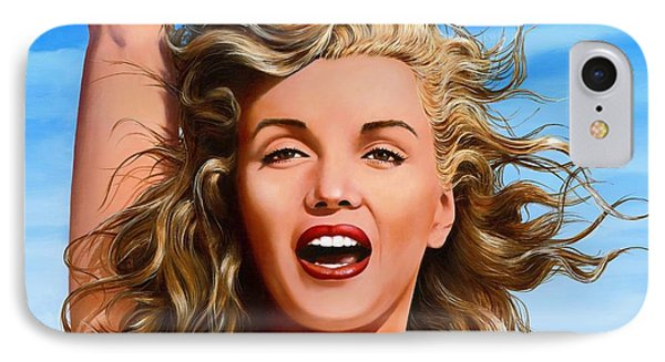 Marilyn Phone Case by James Robertson