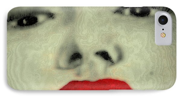Marilyn Monroe 8 IPhone Case by David Patterson