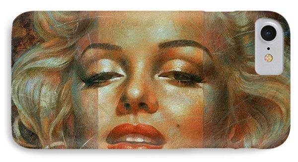 Marilyn Monroe IPhone 7 Case by Arthur Braginsky