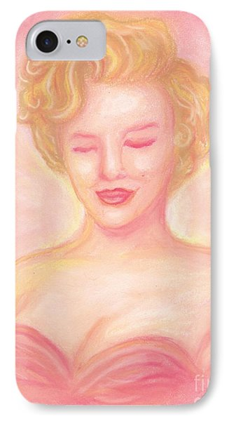 Marilyn Monroe Phone Case by Cassandra Geernaert