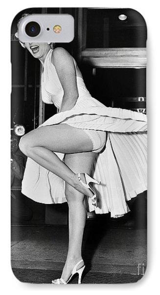 Marilyn Monroe Phone Case by Granger