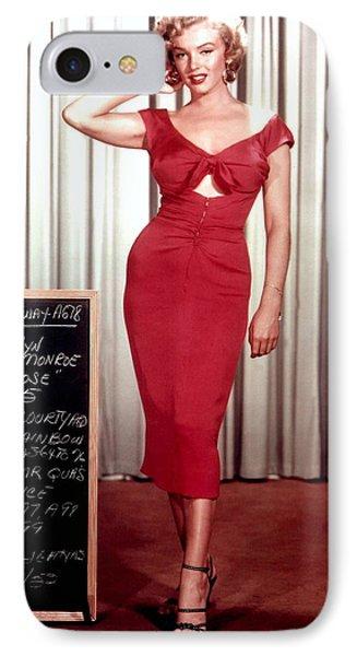 Marilyn Monroe In Gentlemen Prefer Blondes IPhone Case