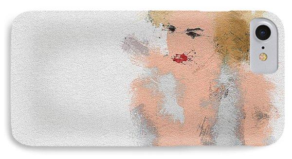 Marilyn Monroe IPhone Case by Miranda Sether