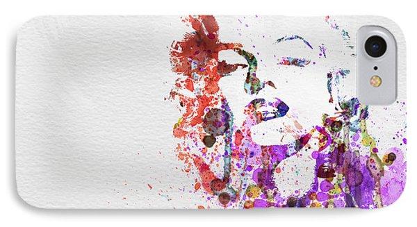 Marilyn Monroe IPhone Case by Naxart Studio