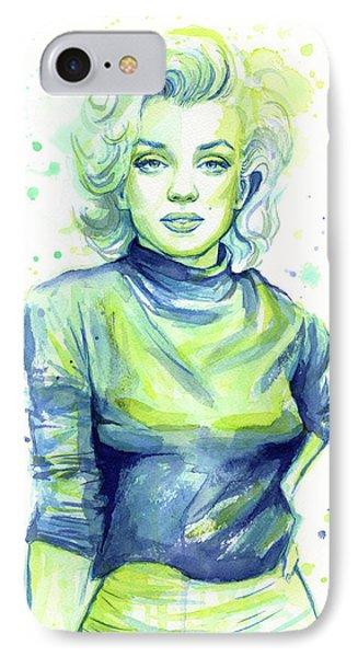 Marilyn Monroe IPhone 7 Case by Olga Shvartsur