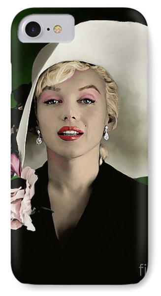 Marilyn Monroe IPhone Case by Paul Tagliamonte