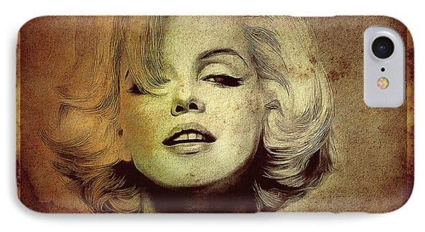 Marilyn Monroe Star Phone Case by Ericamaxine Price