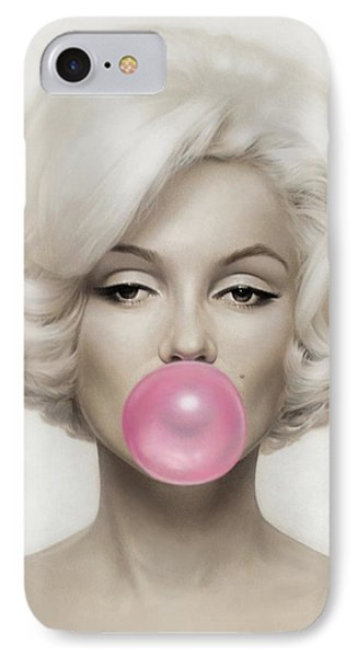 Marilyn Monroe IPhone 7 Case by Vitor Costa