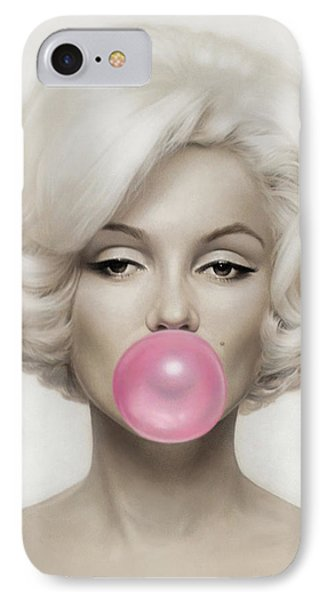 Marilyn Monroe IPhone Case by Vitor Costa