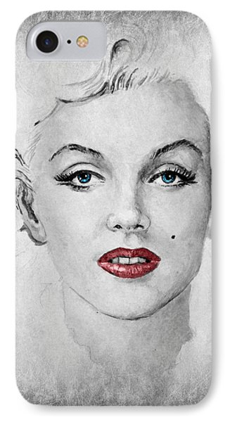 Marilyn Movie Star Edit IPhone Case by Andrew Read