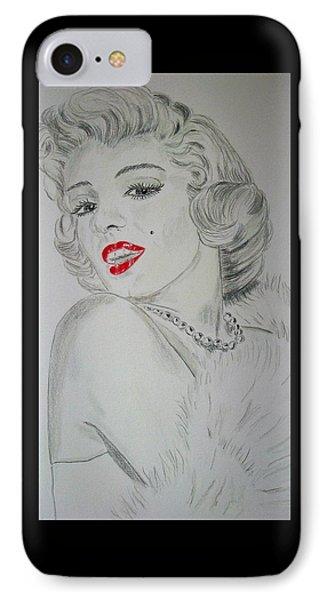 Marilyn Munroe IPhone Case by Ger Ryan