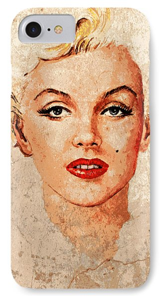 Marilyn Seductive Mix IPhone Case