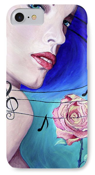 Marilyns Music In The Wind IPhone Case