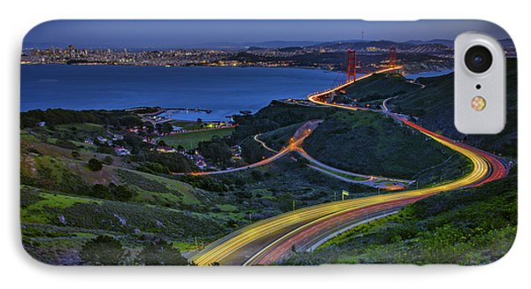 Marin Headlands IPhone Case by Rick Berk