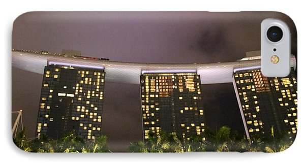 Marina Bay Sands IPhone Case by Diane Height