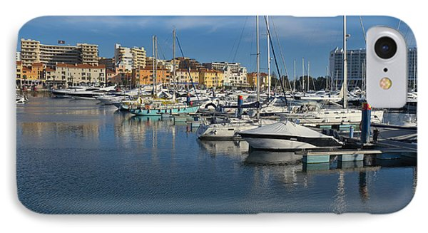 Marina Of Vilamoura At Afternoon IPhone Case by Angelo DeVal