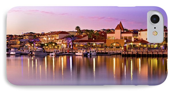 Marina Sunset, Mindarie IPhone Case by Dave Catley